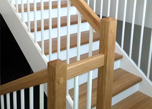 Treppenbau vom Schreiner